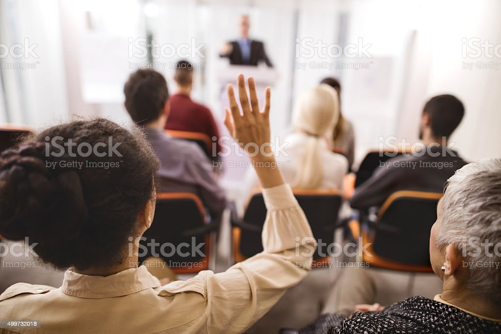 May I ask something? stock photo