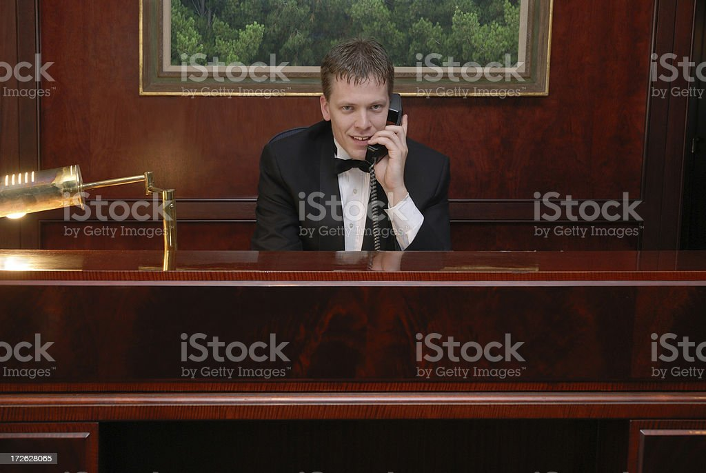 May I Help You? royalty-free stock photo