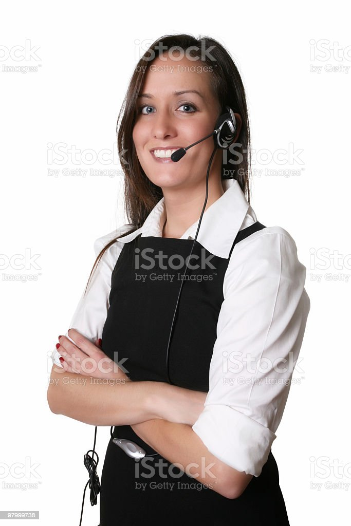 May I help you? royalty-free stock photo
