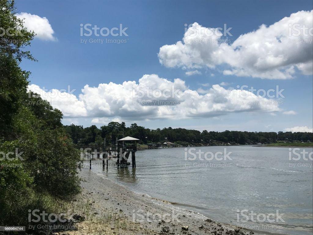 May River Bluffton South Carolina stock photo
