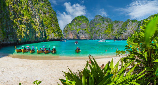 Maya Bay on Phi Phi Islands, Thailand