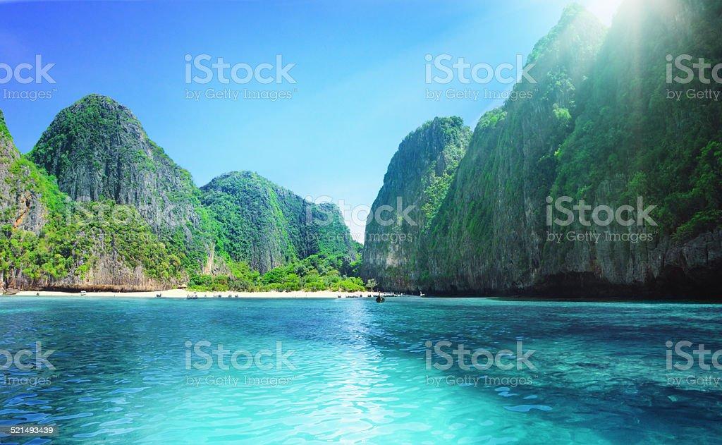 Maya 湾 ロイヤリティフリーストックフォト