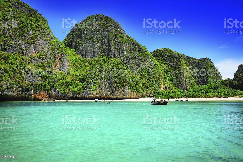 Maya Bay stock photo