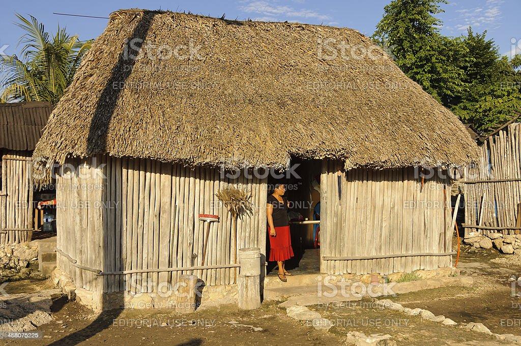 Maya lifestyle stock photo