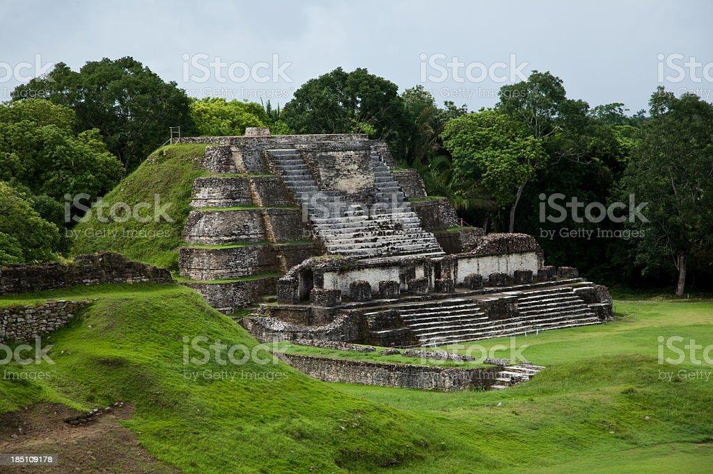 Maya Ruins stock photo