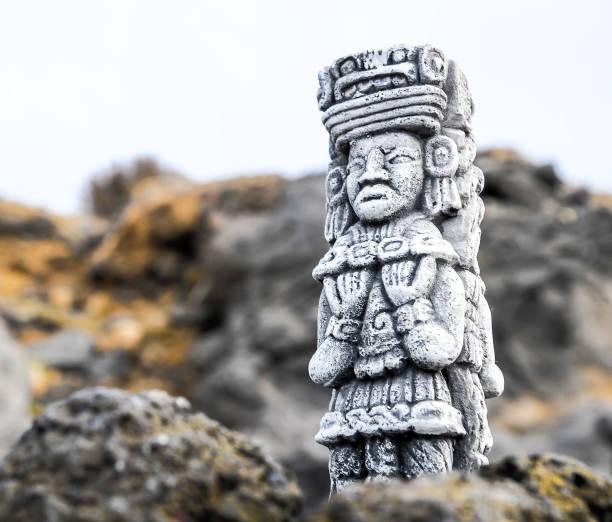 マヤの像 - インカ ストックフォトと画像