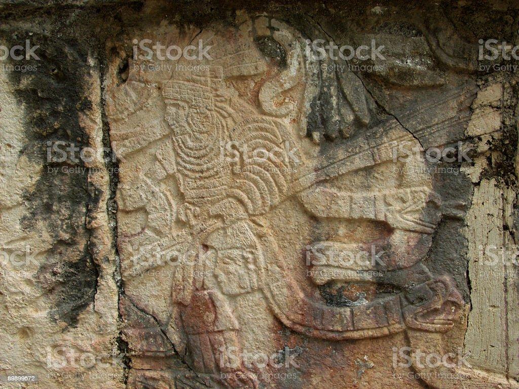 Mayan Athlete royalty-free stock photo