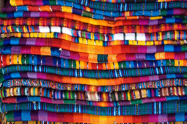 Mayan Blankets  latin american culture stock pictures, royalty-free photos & images
