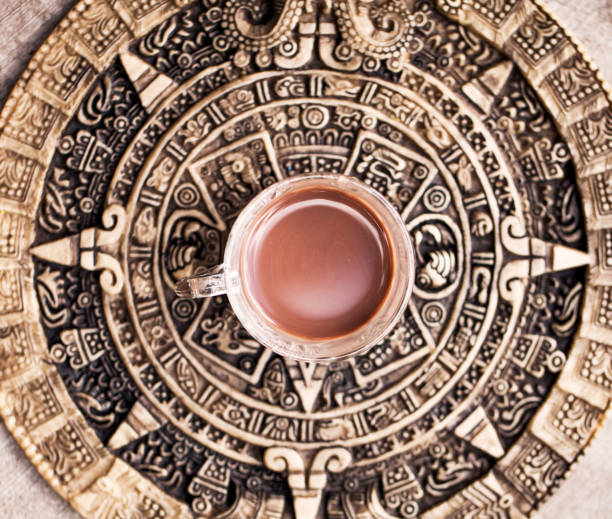 Mayan Cacao Drink stock photo