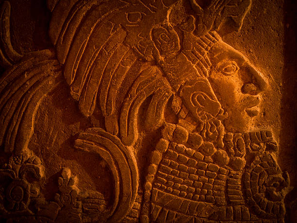 Mayan carving Mayan carving carving craft product stock pictures, royalty-free photos & images