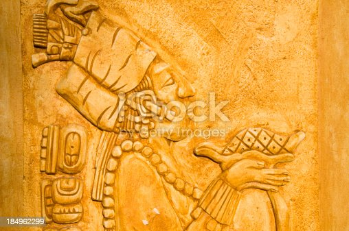 Mayan Culture Wall Art Stock Photo & More Pictures of Adult | iStock