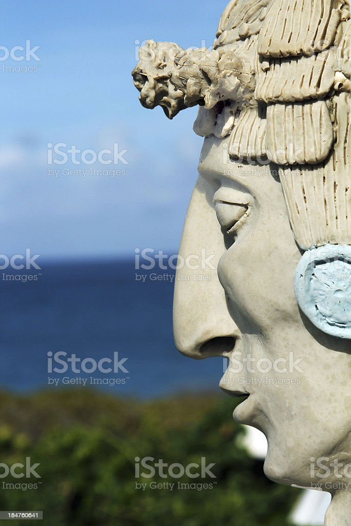Mayan Man stock photo