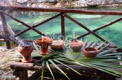 istock Mayan pots for shaman ceremony 645416756