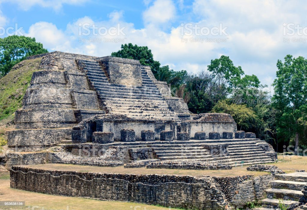 Mayan Ruins At Altun Ha Stock Photo Download Image Now Istock