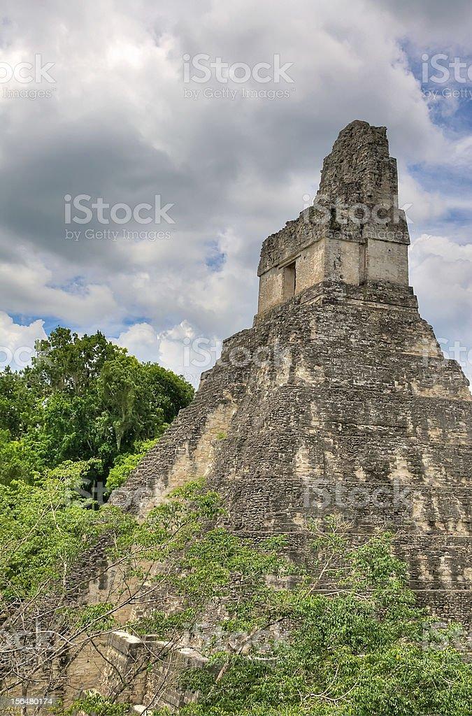 Mayan Ruins royalty-free stock photo