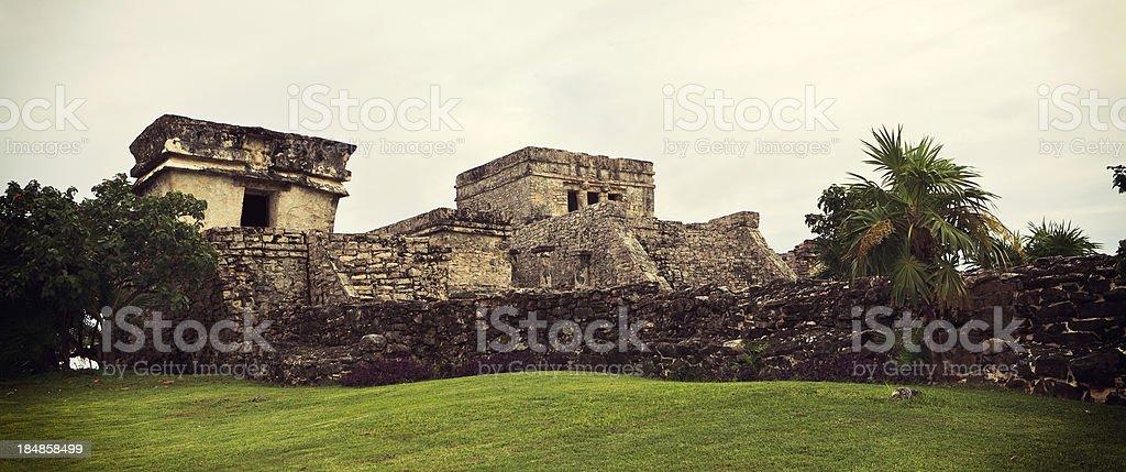 Mayan Tulum Ruins royalty-free stock photo