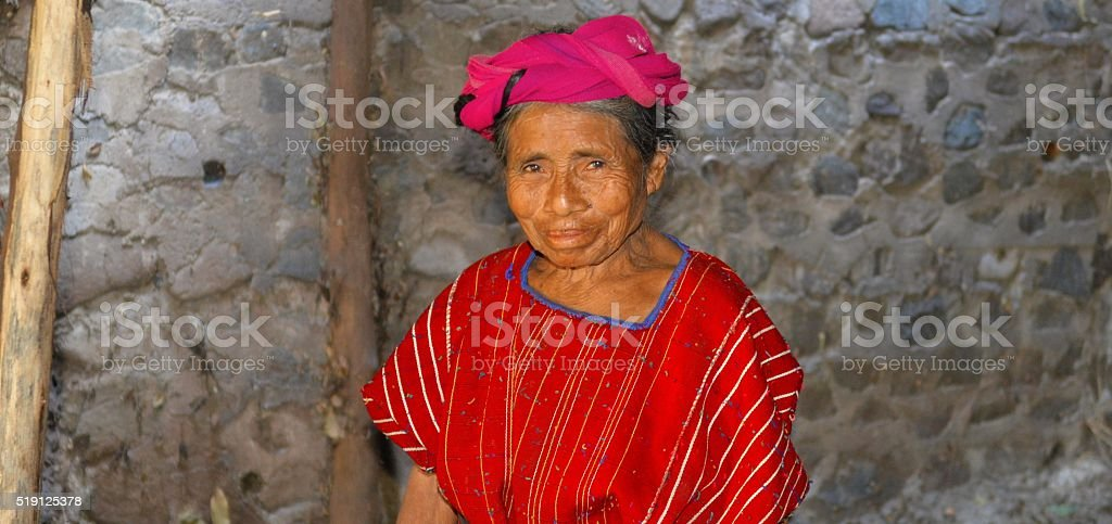 Mayan women stock photo