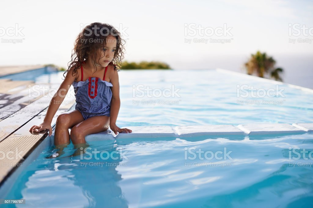 Maybe I should just jump in stock photo