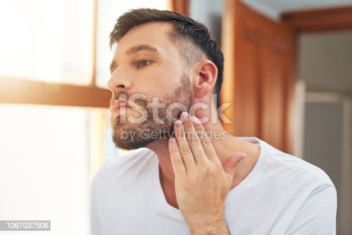 istock Maybe I should shave it all off 1067037506