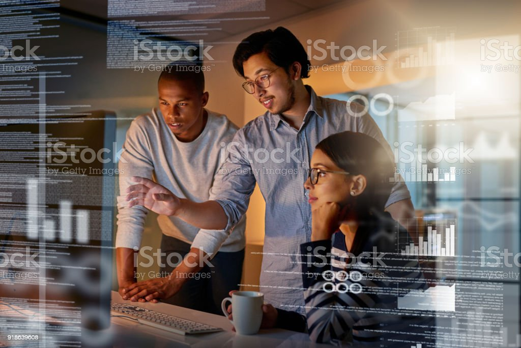 Maybe if we try this code stock photo