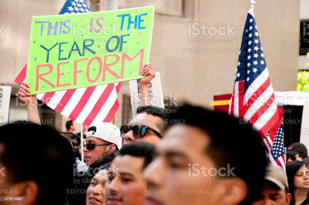 Mayday Protestors royalty-free stock photo