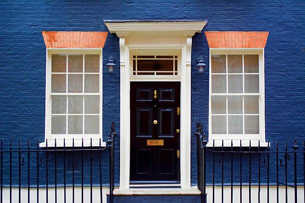 Mayfair London Door London, England, United Kingdom: June, 14, 2016. Mayfair door in London.  mayfair stock pictures, royalty-free photos & images
