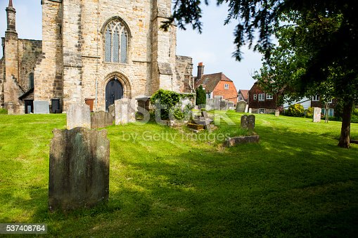 City in UK, East SussexSt Dunstan's Church