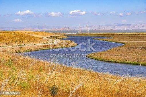 Mayfield Slough, South San Francisco Bay Area, Palo Alto, California