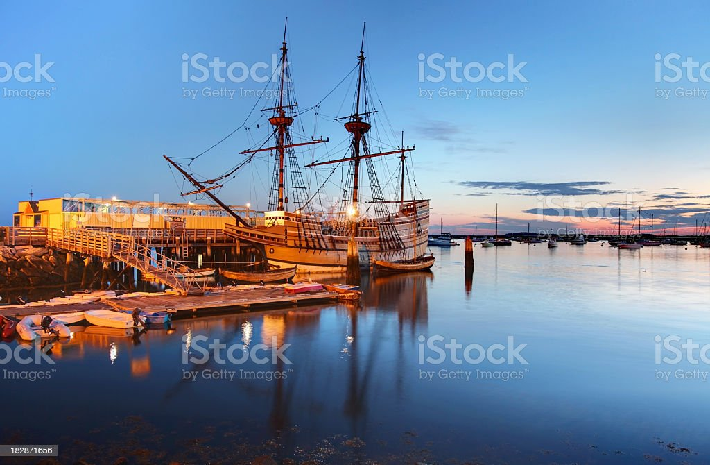 Mayflower II stock photo
