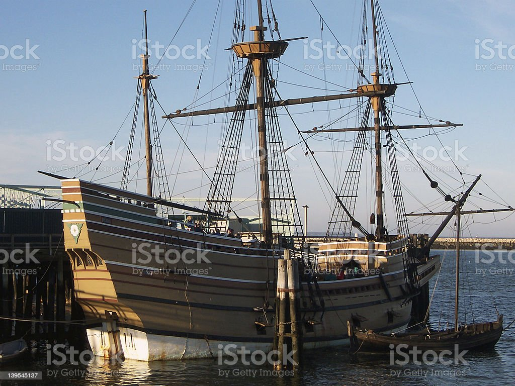 Mayflower stock photo