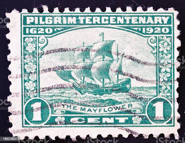 Mayflower Stamp