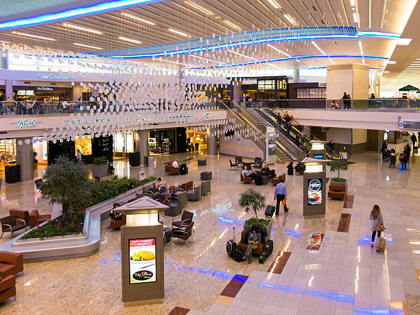Maynard Jackson international terminal on Atlanta airport, USA – Foto