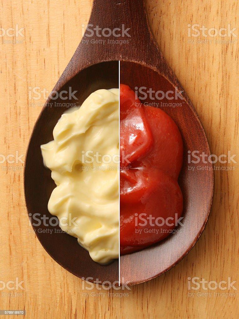 Mayonnaise And Ketchup Composition