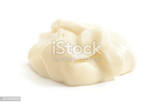 Mayonnaise  isolated on a white background