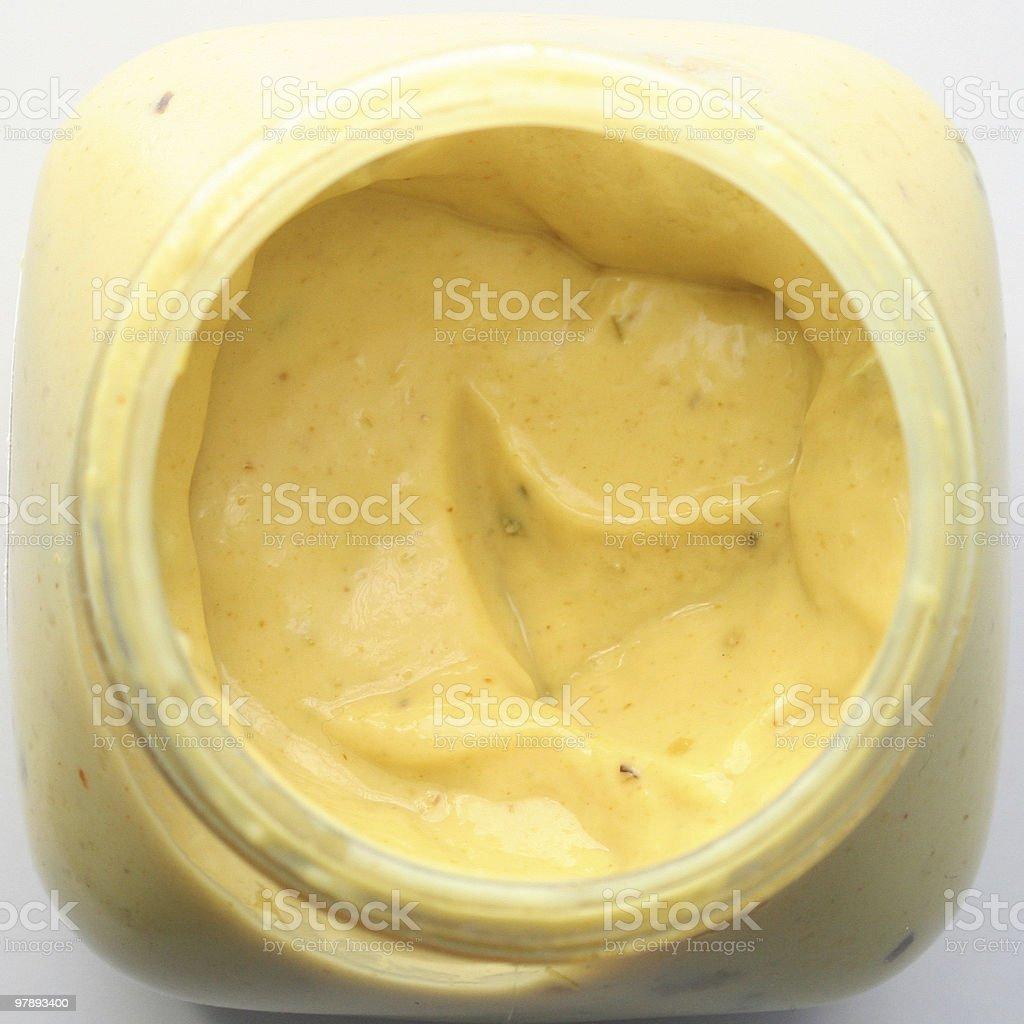 Mayonnaise royalty-free stock photo