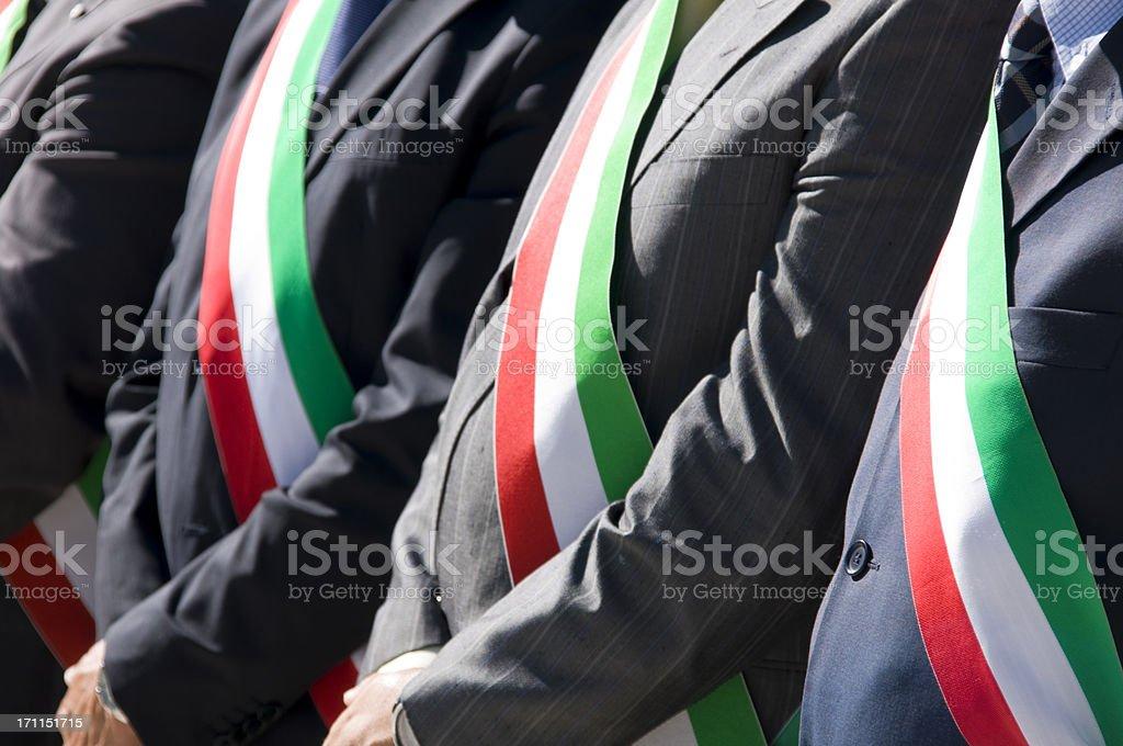 Mayors stock photo