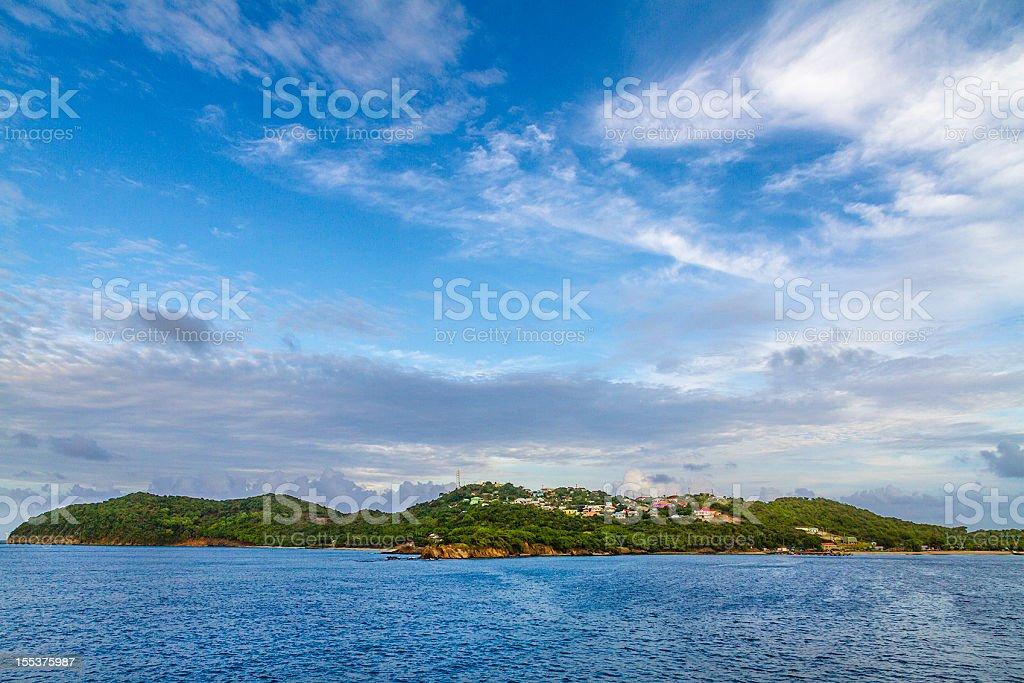 Mayreau Island, The Grenadines royalty-free stock photo