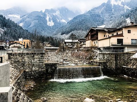 Mayrhofen Austria in Spring