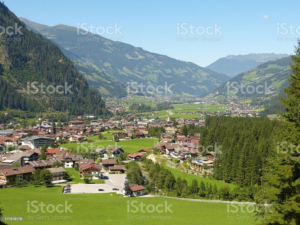 Mayrhofen im ziller valley – Foto