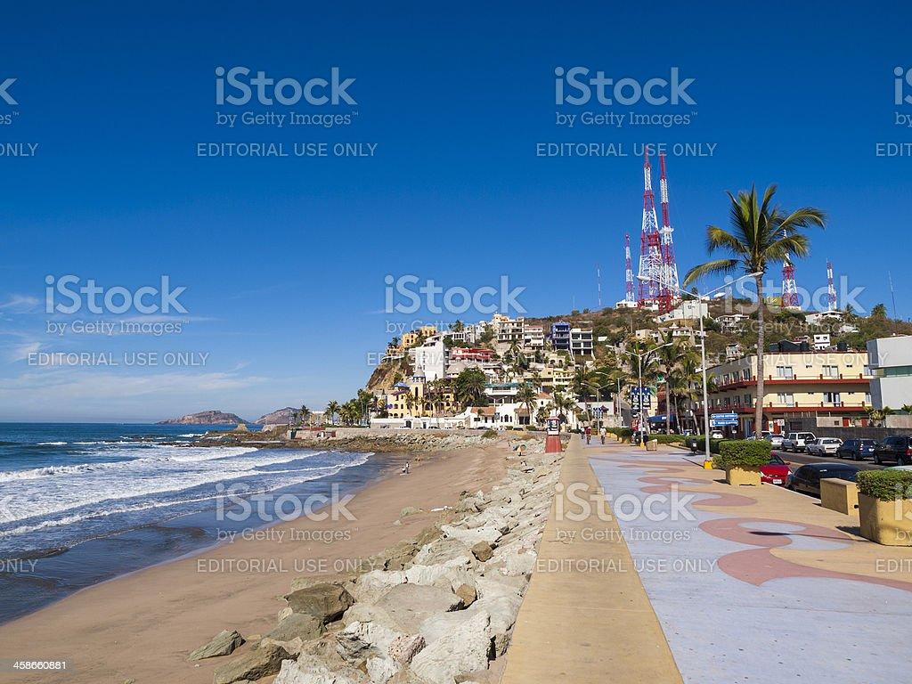 Mazatlan beach, Mexico stock photo