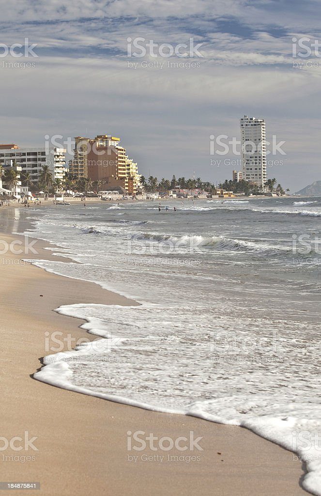 Mazatlan Beach stock photo