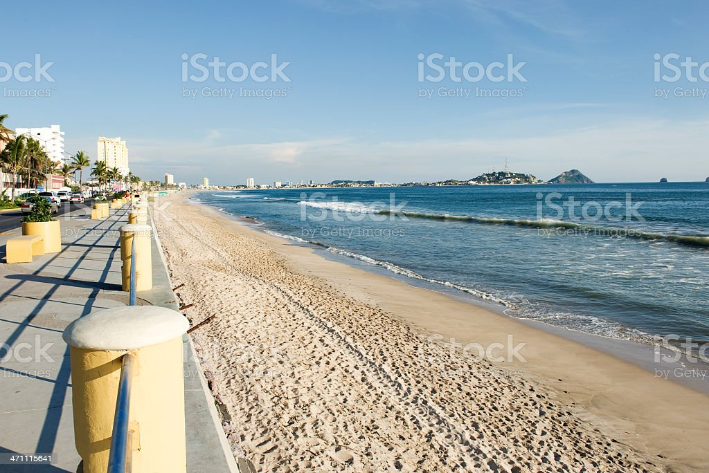 Mazatlan Beach stock photo