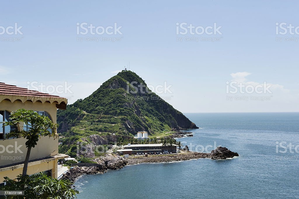 Mazatlan Lighthouse stock photo