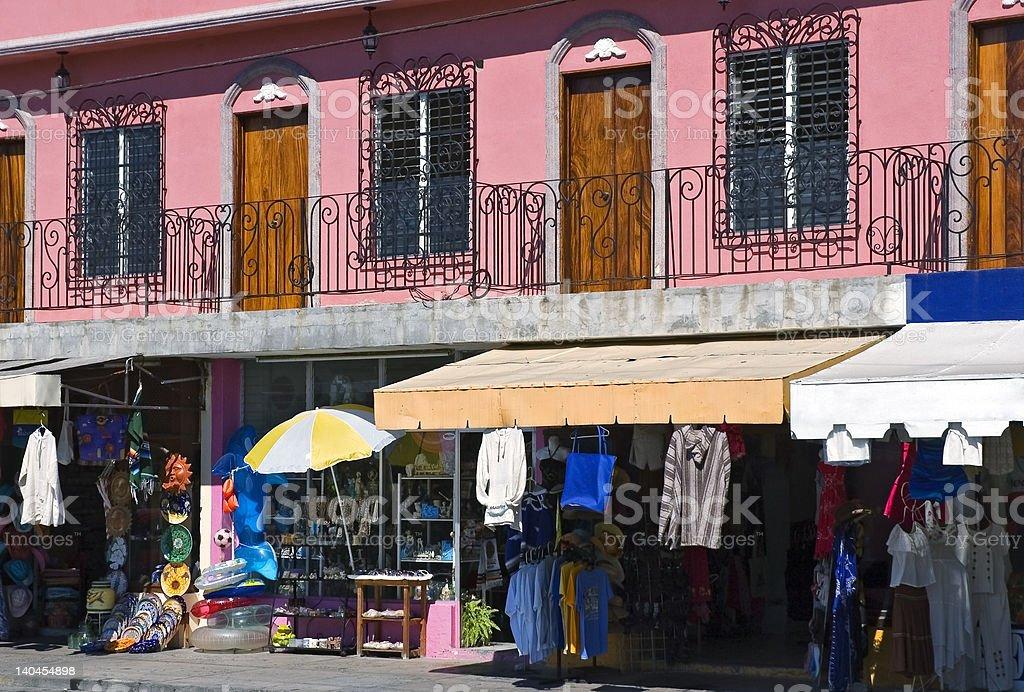 Mazatlan Mexico Architecture and Street Scene stock photo