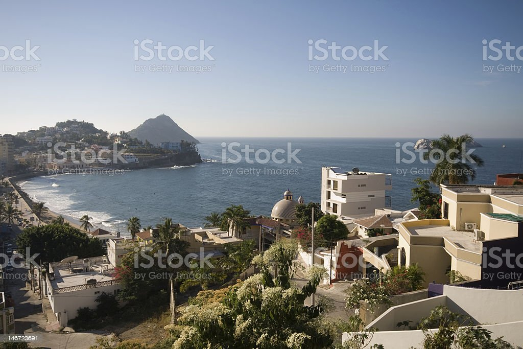 Mazatlan Mexico Scenic Look Out Point stock photo
