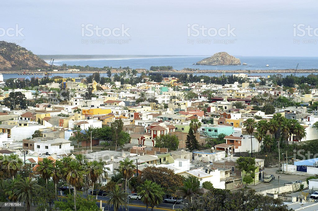 Mazatlan stock photo