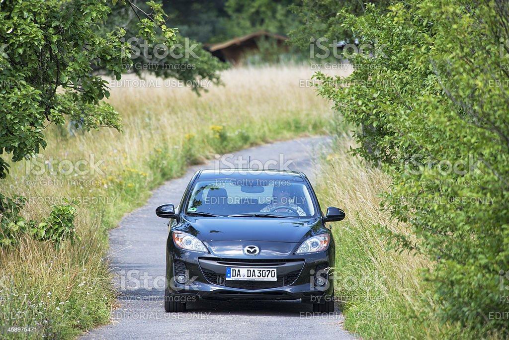 Mazda 3 royalty-free stock photo
