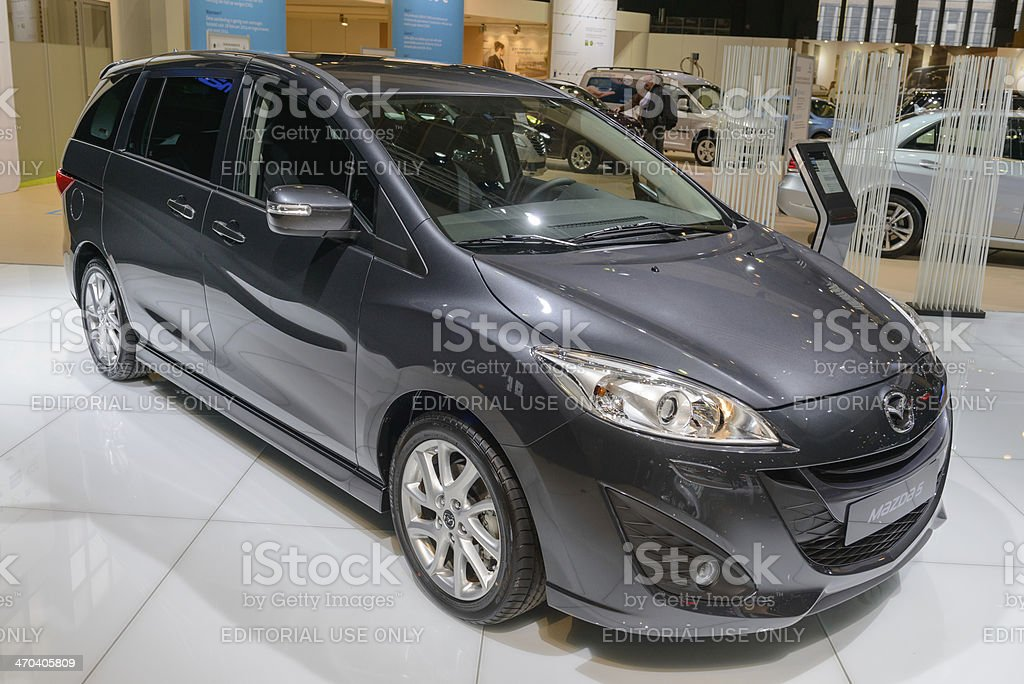 Mazda 5 royalty-free stock photo