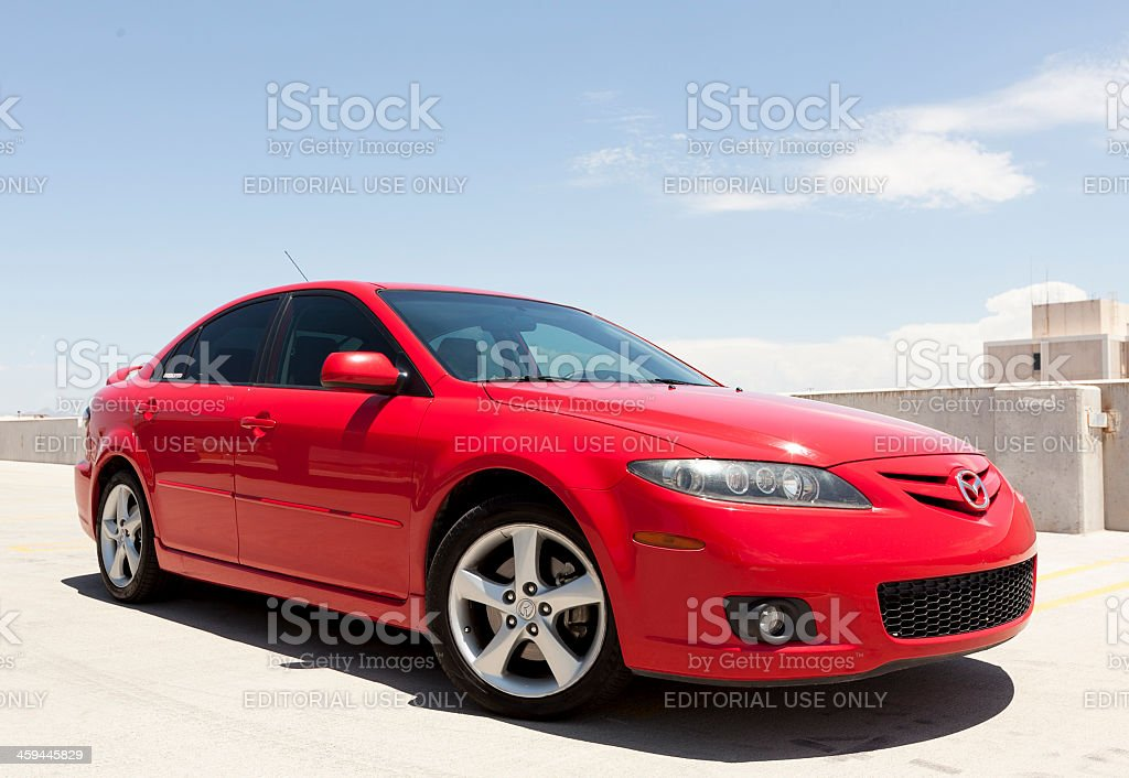Mazda 6 2006 stock photo