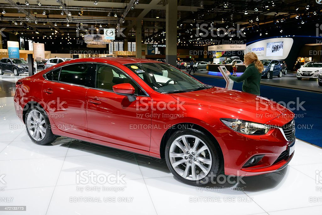 Mazda 6 stock photo